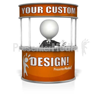Custom Help Desk Presentation clipart