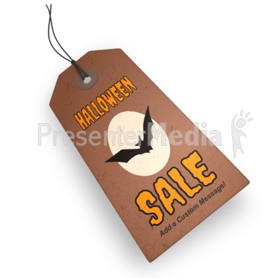 Halloween Price Tag Presentation clipart