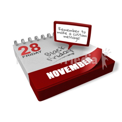 Calendar Notification Presentation clipart