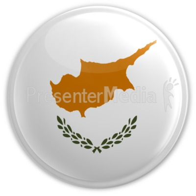 Cyprus Badge Presentation clipart