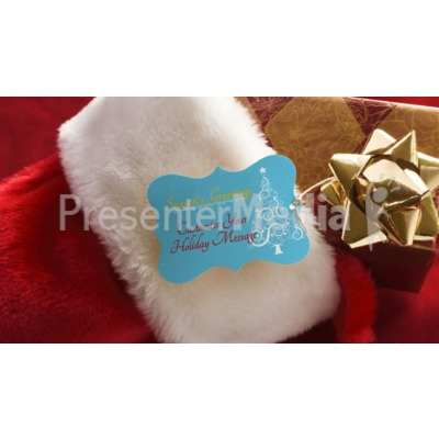 Stocking Present Custom Presentation clipart