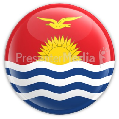 Kiribati Badge Presentation clipart