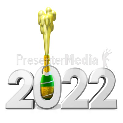 Champagne Celebration Custom Presentation clipart