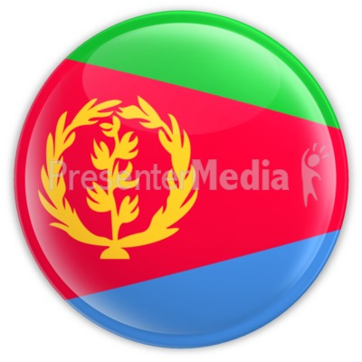 Eritrea Badge Presentation clipart