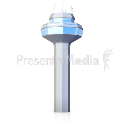 Ground Control Tower Presentation clipart