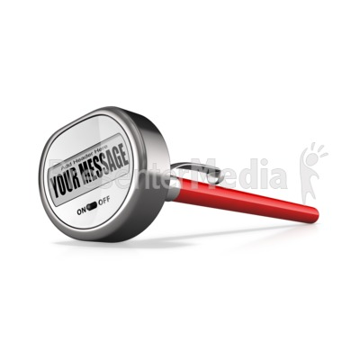 Custom Chef Themometer Presentation clipart