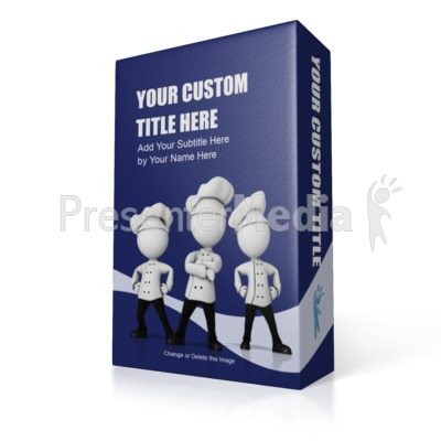 Display Box Presentation clipart
