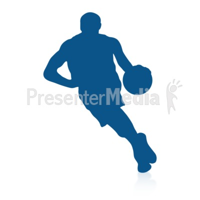 Basketball Dribble Presentation clipart