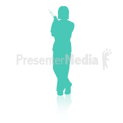 Medical Person Three Presentation clipart