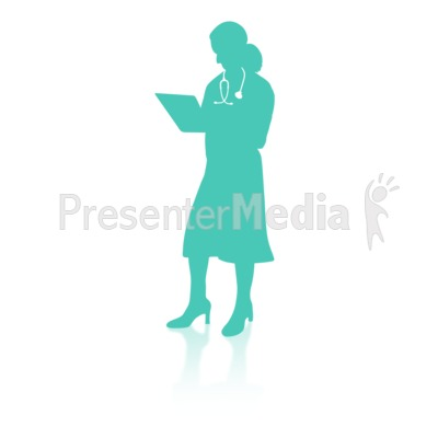 Medical Person Four Presentation clipart