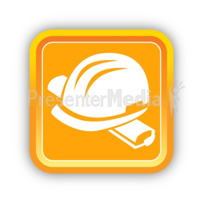 Construction Hard Hat Presentation clipart