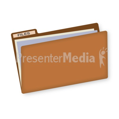 File Folder Presentation clipart