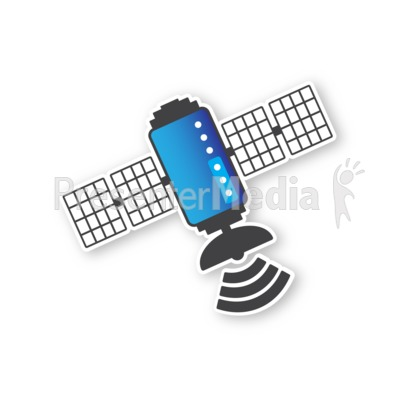 Satellite One Presentation clipart