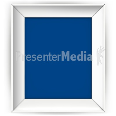 Front Picture Frame Presentation clipart