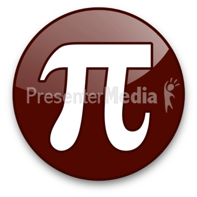 Pi Sign Presentation clipart