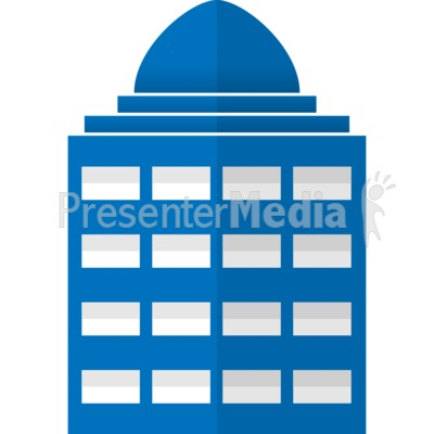 City Office Building Presentation clipart
