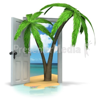 Door To Paradise Presentation clipart