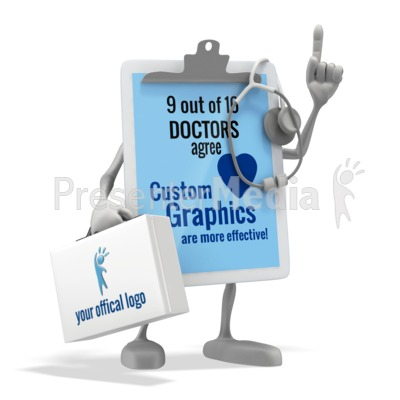 Doctor Clipboard Presentation clipart