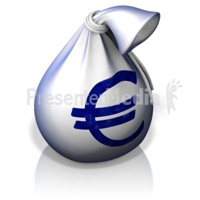 Euro Money Bag Presentation clipart