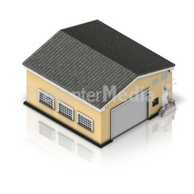 Warehouse Building Presentation clipart