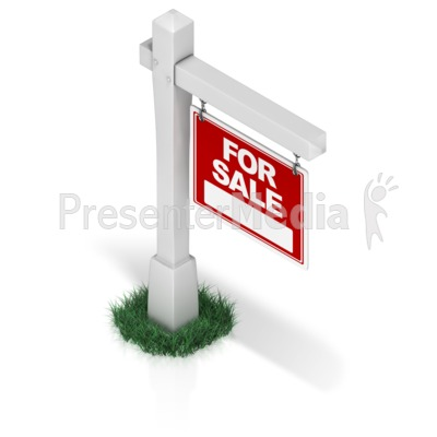 Real Estate Sign Presentation clipart