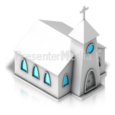 Church Forward Isometric Presentation clipart