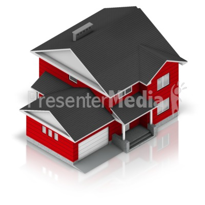 Residential House Presentation clipart