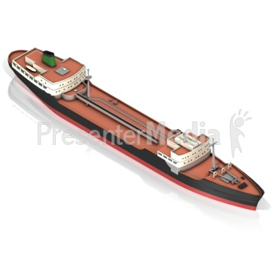 Tanker Ship Presentation clipart