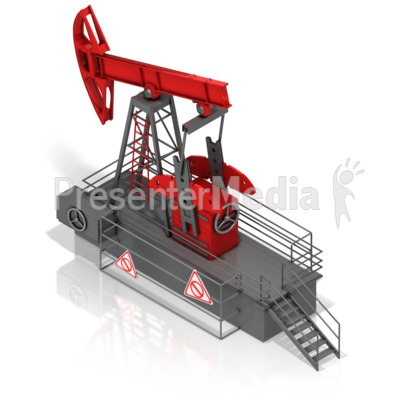 Oil Rocker Presentation clipart