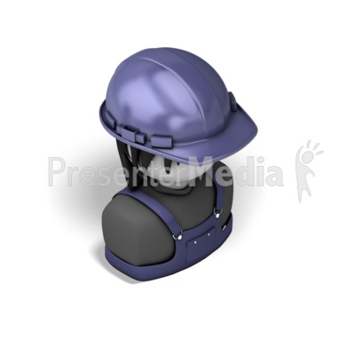Woman Construction Isometric Presentation clipart