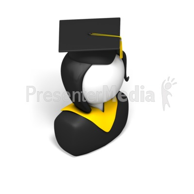 Female Graduate Presentation clipart