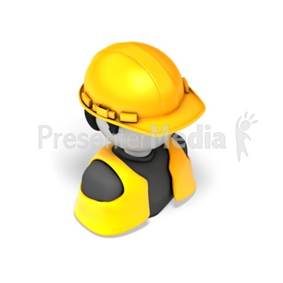 Construction Worker Presentation clipart