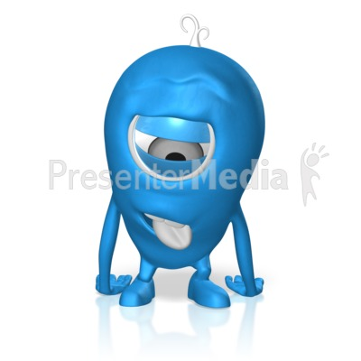 Character Exhausted Presentation clipart