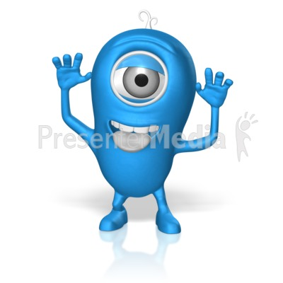 Character Silly Presentation clipart