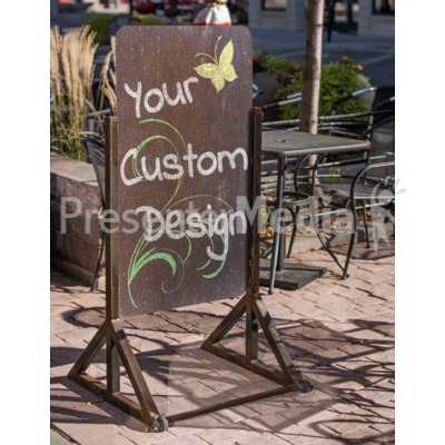 Outdoor Retailer Sign Custom Presentation clipart