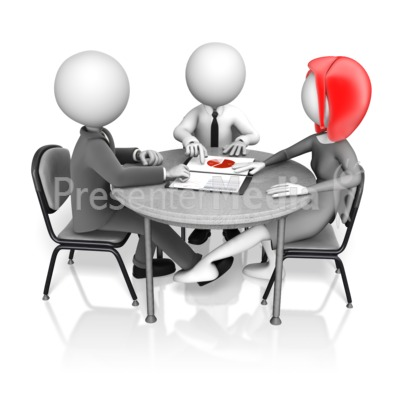 Secret Work Romance Presentation clipart