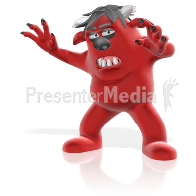 Monster Attack Presentation clipart