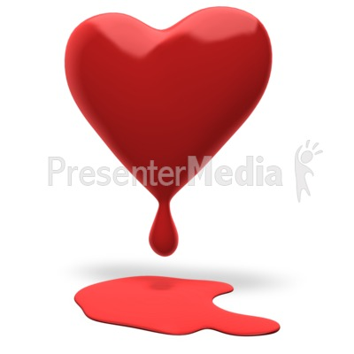 Heart Bleeding Presentation clipart
