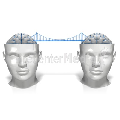 Bridging The Minds Presentation clipart