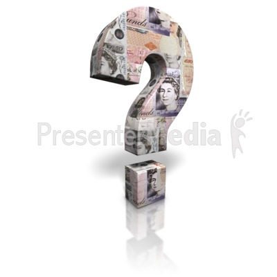 Pound Question Mark Presentation clipart