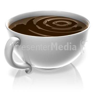 Cup Of Coffee Presentation clipart