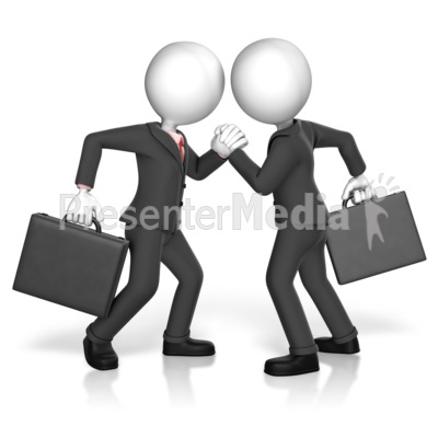 Business Arm Strength Presentation clipart