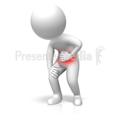 Standing Stomach Problems Presentation clipart