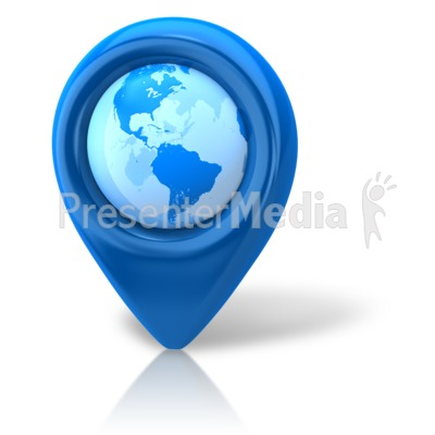 Navigation Pointer Earth Presentation clipart