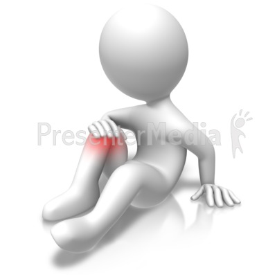 Knee Problems Injury Presentation clipart