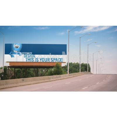 Bridge Custom Billboard Presentation clipart
