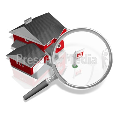 House For Sale Search Presentation clipart