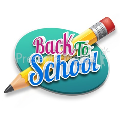 Back To School Pencil Presentation clipart