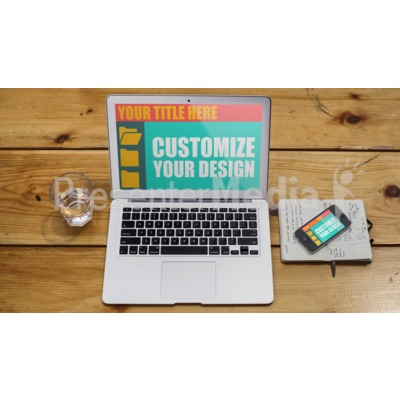 Cross Device Design Custom Presentation clipart