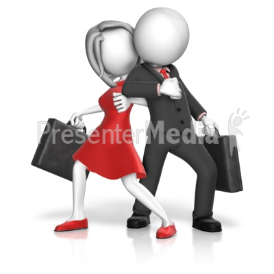 Dominance Gender War Presentation clipart
